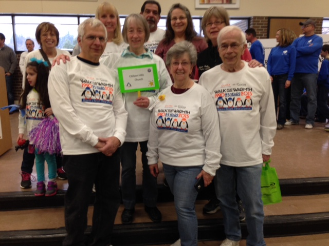 """Join The Chilson """"Walk for Warmth"""" Team!"""
