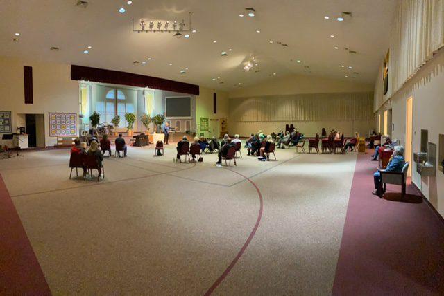 Sunday Morning Worship Service Safety